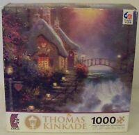 "CEACO Thomas Kinkade ""Sweetheart Cottage II"" 1000-Piece Jigsaw Puzzle"