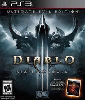 NEW Diablo III 3 Reaper of Souls Ultimate Evil Edition (Playstation 3, 2014)