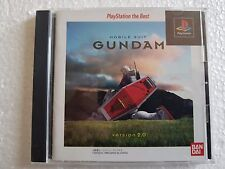 PSX SONY PLAYSTATION JAP NTSC MOBILE SUIT GUNDAM VERSION 2.0 : THE BEST NO SPINE