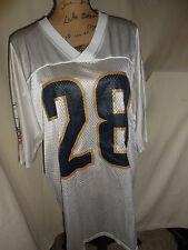 Nfl Reebok Super Bowl 2/02 Former St. Louis Rams Jersey *Faulk* #28 Size L Euc