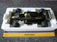 MINICHAMPS Lotus Renault 98T - 18th - 1986 Ayrton Senna
