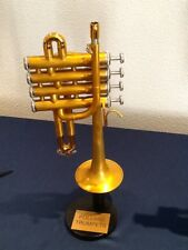 PICCOLO TRUMPET, POLLARD CUSTOM BUILT (IN UK) ,FINISHED IN BRUSHED GOLD.