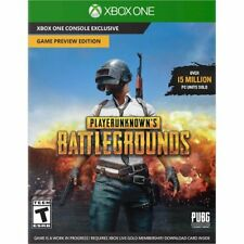 Xbox One 1 Playerunknowns Battlegrounds Game Preview Edtn NEW Sealed REGION FREE