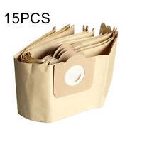 15pcs dust bag for Vacuum cleaner KARCHER WD3 WD3300 WD3.500P MV3 WD3200