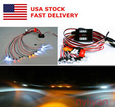 Us Rc Led Light Kit Brake+Headlight+Signal 2.4G Ppm Fm For Hsp 1:10 Car truck