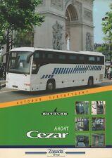 Autosan A 404 T Cezar bus (made in Poland) _1999 Prospekt / Brochure