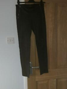 Theory  Ladies Leather Trousers Size 6