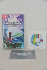 NEW Nintendo Switch NS Cave Story Plus 洞窟物語 + (US Version) + CD + Booklet