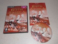 BIRTH OF AMERICA -  PC GAME ** COMPLETE ** FREE UK POSTAGE