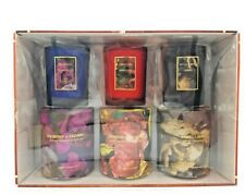 Three Candle Set With Gifting Boxes - 10 oz each Vanilla, Cranberry, & Mulberry
