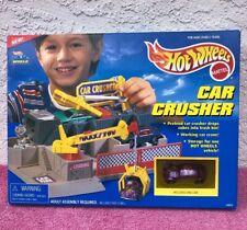 Vintage Mattel 1997 Hot Wheels Car Crusher Purple VW NIB RARE!!! READ!