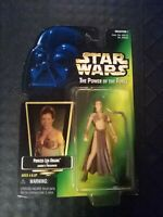 Princess Leia Organa (Jabbas Prisoner) - Star Wars The Power of the Force - NEW