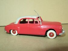 653H Vintage NOREV Frankreich Renault Frégate Grand Bollwerk Rot Dach Beige 1 :