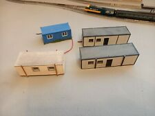 Bachmann Scenecraft Hornby Skaledale Portable Offices Portacabin x3