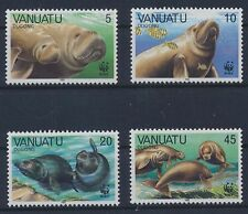 Vanuatu 782/85 postfrisch / WWF (4178) .........................................