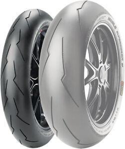 Super Corsa V2 120/70ZR-17 Pirelli 2166900 Front Motorcycle Tire