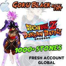 🌟 iOS - Dokkan Battle - Goku Black INT with 1000+ Dragon Stones - Fresh Global