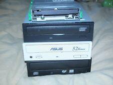 Lot of 4 drives 3.5 floppy CD-rom DVD-ROM DVD RW Sony Asus TEAC Lite-on