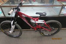 KONA GARBANZO STAB DOWNHILL MOUNTAIN BIKE RED