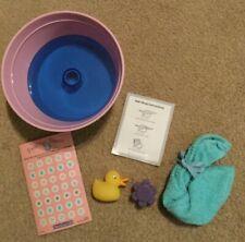 American Girl Coconut Spa Bath Accessories