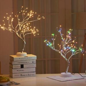 108 LED Gypsophila Night Light Table Light Lamp Christmas Party Xmas Home Decor