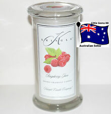 KRINGLE CANDLE * RASPBERY JAM * LARGE APOTHECARY JAR SON OF YANKEE *95 HOURS