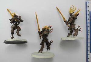 3 KURNOTH HUNTERS Plastic Sylvaneth Wood Elf Elves Army Painted Age of Sigmar 53