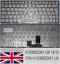 CLAVIER QWERTY UK ASUS EeePc EPC 1005PEB, V103662DK1 Noir