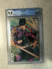 """BATMAN #92 CGC GRADED 9.8 WHITE PAGES """"ARTGERM"""" VARIANT PUNCHLINE COVER"""