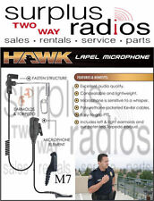 Hawk Tactical Police Headset Microphone Motorola APX6000 APX7000 APX4000 APX8000