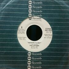 MAC GAYDEN * MORNING GLORY * 1975 WHITE LABEL PROMO 45 * COUNTRY ROCK CLASSIC !!