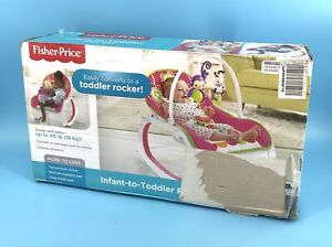 Fisher-Price Infant-to-Toddler Rocker CMR19 Up To 40 Lb -Floral Confetti #NO3087