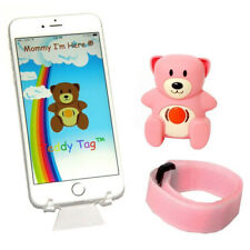 Mommy I'm Here Teddy Tag Cl-515 Smart Child Locator Pink