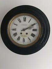 Ancienne  horloge oeil de boeuf mouvement a balancier