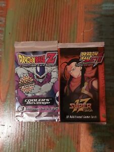 Dragonball Z And Gt Booster Packs Score dragon