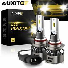 Auxito 50000Lm Csp 6500K White 9012 Led Headlight Hir2 High Low Beam Kit Bulbs