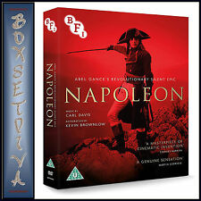 NAPOLEON - ABEL GANCE - REVOLUTIONARY SILENT EPIC  *BRAND NEW DVD *