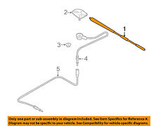 MAZDA OEM 11-14 2-Antenna Mast D35066A30