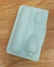 Light Blue OEM Plastic Snap Travel Case For Philips Sonicare Electric Toothbrush