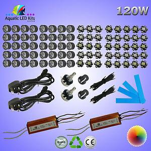 DIY Dimming Bridgelux Aquarium LED Light Kit 36W,60W,72W,90W,120W,180W,360W