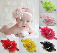 Baby Toddler Headbands Headband flower hair accessories for photography prop