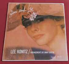 LEE KONITZ LP REED FR 80'S YOU AND LEE VERVE