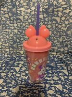 New Disney Minnie Mouse Cup / Tumbler with Straw
