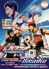 Kuroko no Basuke DVD Movie - Winter Cup Compilation -Shadow and Light -US Seller