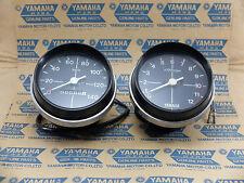 Yamaha RX100 RX115 RX125 Speedometer & Tachometer Assy NOS Aftermarket Part