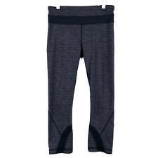 Lululemon Crop Yoga Women's Stretch Purple Activewear Leggings Size 4