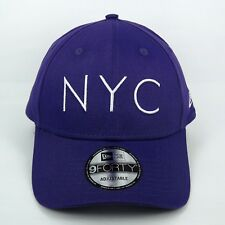 New Era Cap Men's NYC Fashion Essential Basic Purple 940 Adjustable Hat