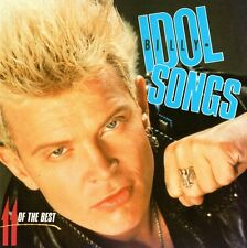 BILLY IDOL - 11 OF THE BEST CD (FLESH FOR FANTASY, WHITE WEDDING, REBEL YELL...)