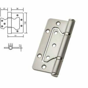 100mm / 4 inch Stainless Steel Flush Door Hinge