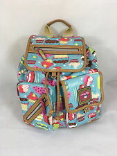 Lily Bloom Riley Backpack in Cupcakes